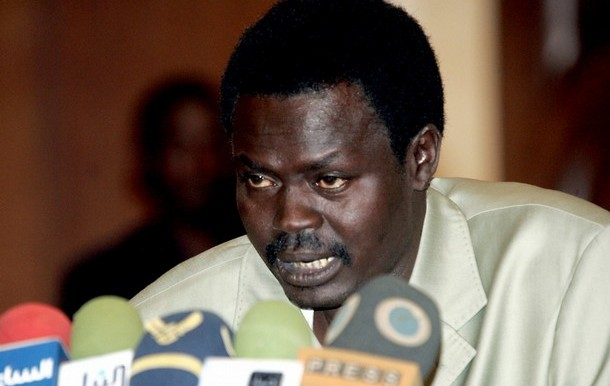 Leader of the Sudan Liberation Movement/Army - Minni Minnawi faction [Photo via Radio Dabanga]