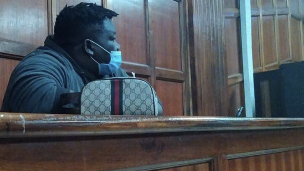 Tony Taban Suleman aka Don Solo was first arrested in his house on February 21 over claims of being involved in money laundering and drug trafficking. [Photo COURTESY]