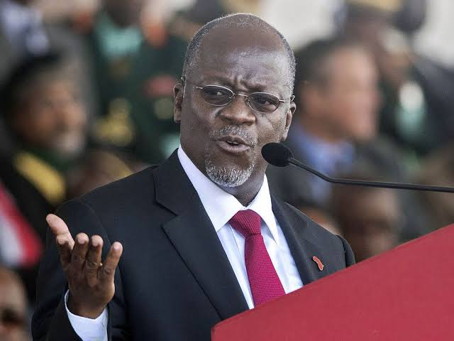 Tanzanian President John Magufuli [Photo via Getty Images]