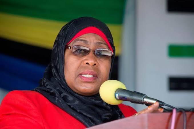 Tanzanian Vice President Samia Suluhu. [Pphoto via Kahawa website].