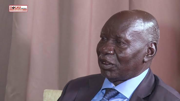 South Sudan former presidential advisor on military affairs Daniel Awet Akot [Photo by Dolku media]