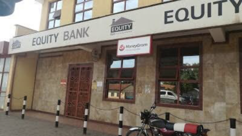 Equity Bank South Sudan's Manyliem branch [Photo by unknown]