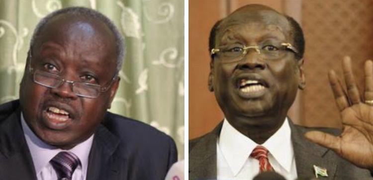 Nhial Deng Nhial (left) and Marial Benjamin [Photos via Getty Images]