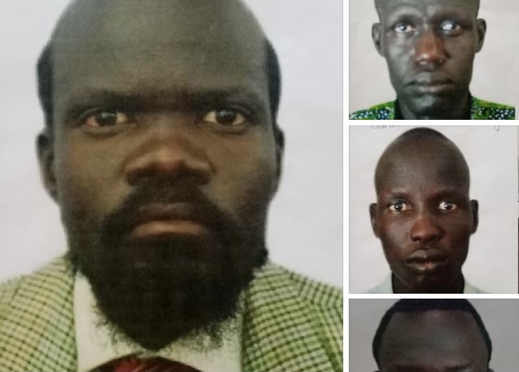 Criminals wanted by the South Sudan Police Service [Photo via SSPS Facebook page]