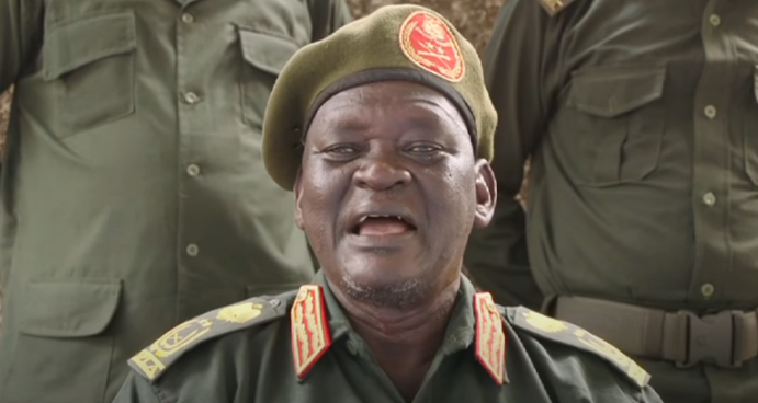 General Simon Gatwech Dual [Photo from a screen grab from YouTube]