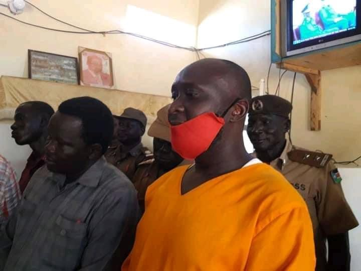 Juba prisoner who was released from jail after more than a decade in prison [Photo by Logonyi Denis Muye]