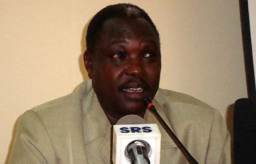 South Sudan's minister of cabinet affairs Martin Elia Lomoro [Photo by Sudan Radio Service]