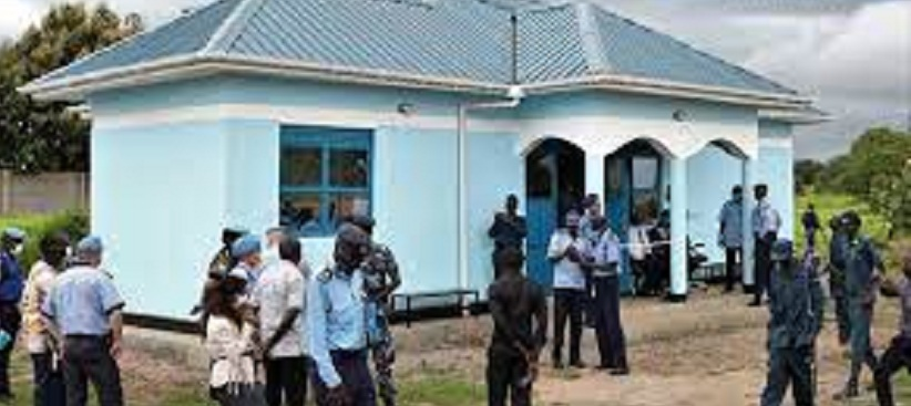 New Kabo police station in Juba [Photo via UNMISS]