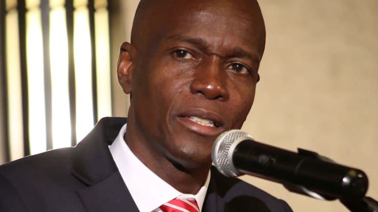 Haitian businessman Jovenel Moise addresses the audience after being declared the official winner of the November 2016 presidential elections, in Port-au-Prince, Haiti, January 3, 2017. [Photo by Jeanty Junior Augustin/Reuters]