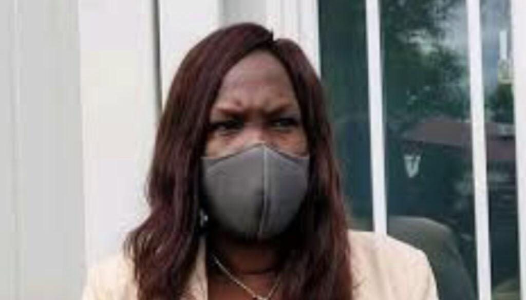 South Sudan minister of health Elizabeth Achuei. [Photo via Facebook]
