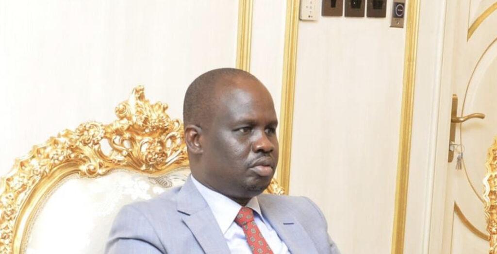 Newly-appointed presidential envoy Albino Mathom Ayuel. [Photo by presidency]