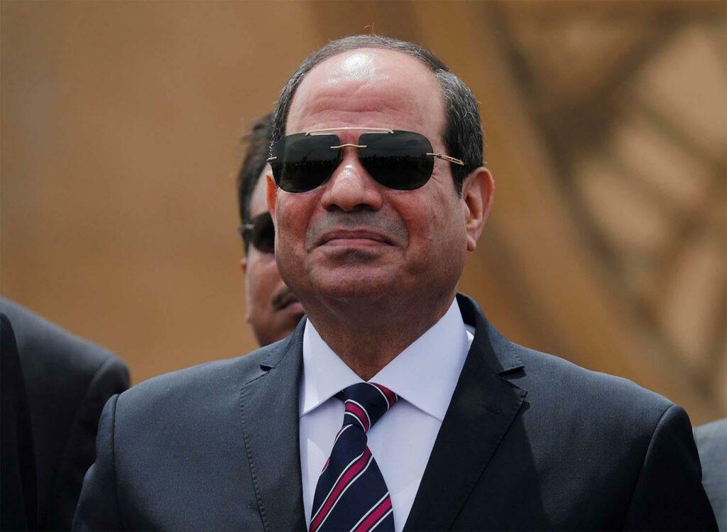 Egyptian President Abdel Fattah al Sisi. [Photo via Middle East Online]