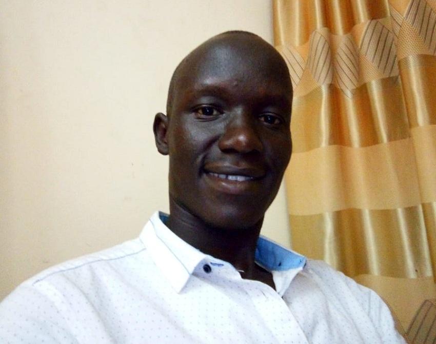 Journalist Jackson Ochaya of No. 1 Citizen Daily Newspaper [Photo via Facebook]