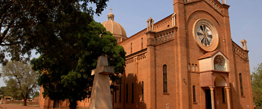 Wau St. Mary Cathedral. [Photo by Ultimate Wild Safaris]