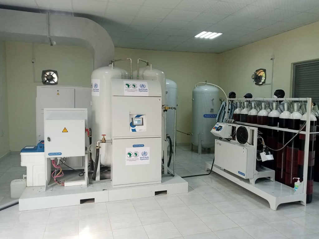 Oxygen plant at Juba Teaching Hospital. [Photo by Sudans Post]