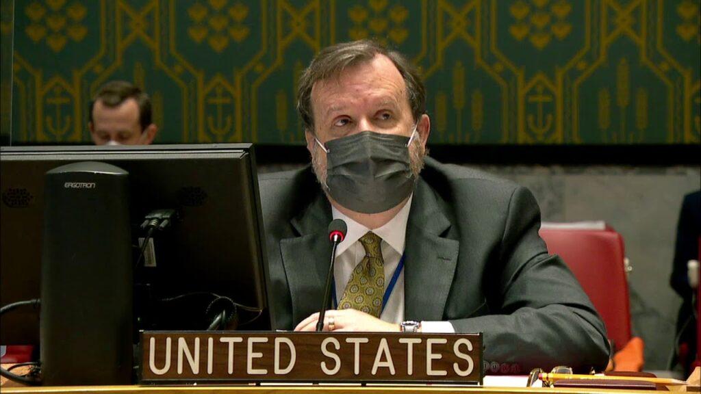 US deputy ambassador to UN Richard Mills. [Photo via YouTube]